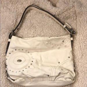 white coach purse!